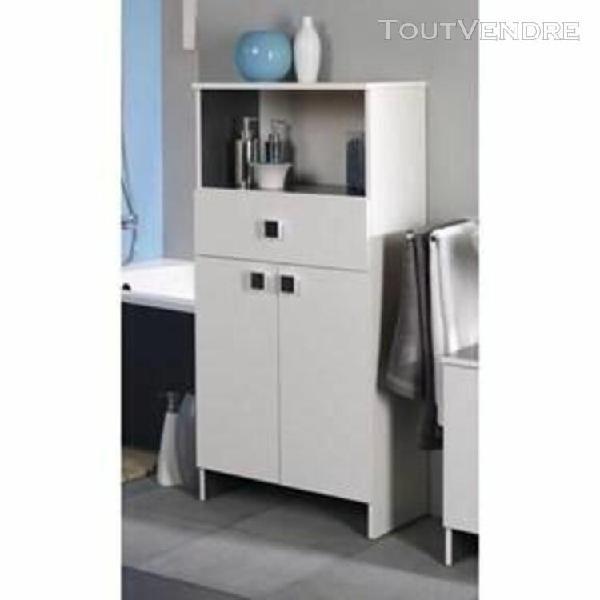 Horizon meuble de salle de bain l 59 cm - blanc - generique