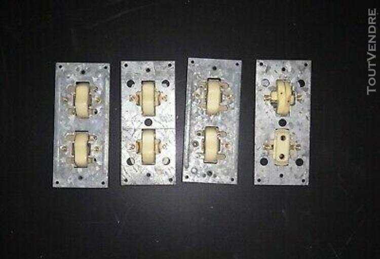 lot de 4 doubles interrupteurs et prise - arnould le silenc