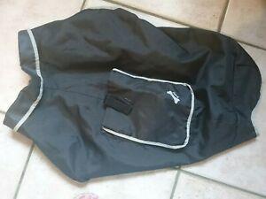 Manteau chien noir et gris bobby taille 60