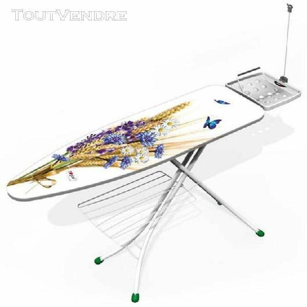 Table à repasser 122x38cm prestige