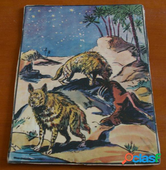 "9 illustrations, probablement issues de ""les animaux sauvages"", pierre noury"