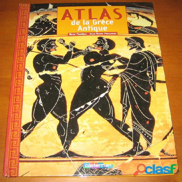 Atlas de la grèce antique, rené ponthus et jean-marie poissenot