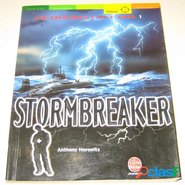 Alex rider 1 – stormbreaker, anthony horowitz