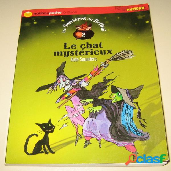 Les sorcières du beffroi 2 - le chat mystérieux, kate saunders