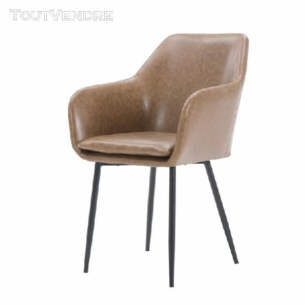 chaise naruto marron