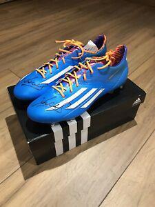Chaussures crampons adizero f50 trx dédicacées / signed