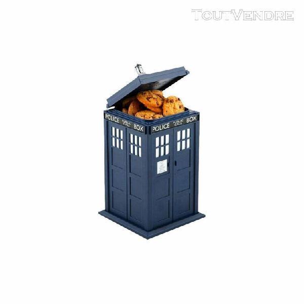 Doctor who boîte à cookies parlante tardis