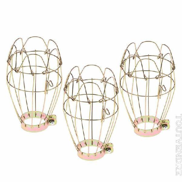 Ensemble 3 pièces abat-jour cage prévention de brûlures