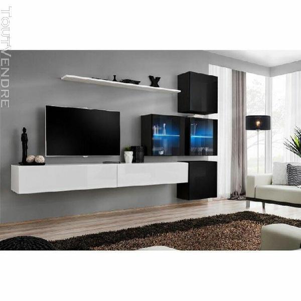 ensemble meubles de salon switch xix design, coloris blanc e