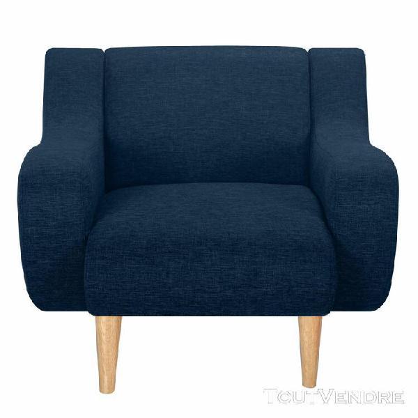 fauteuil stockholm bleu