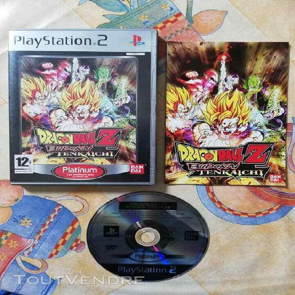 Jeux vidéo console dragon ball z budokai tenkaichi + notice
