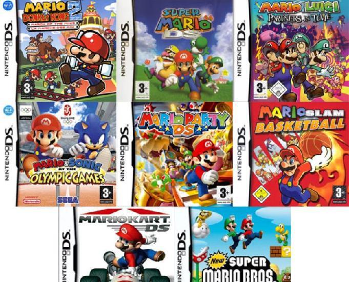 Lot de 110 jeux compatible avec tout type de ds