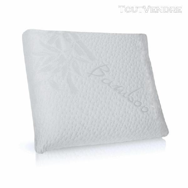 oreiller bio À mémoire de forme 60x60 cm