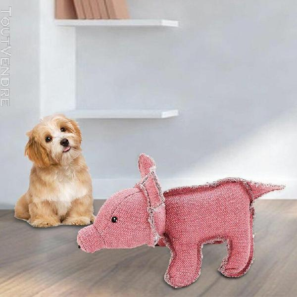 Animaux en peluche cartoon red pig tissu jouet en peluche si