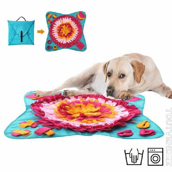 Animaux jouets pour chiens ronde pet pad washable formation