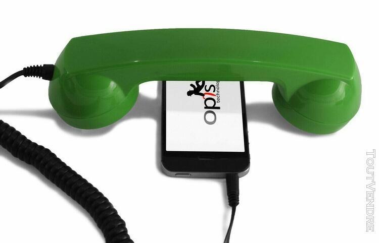 Combiné téléphone rétro opis neuf