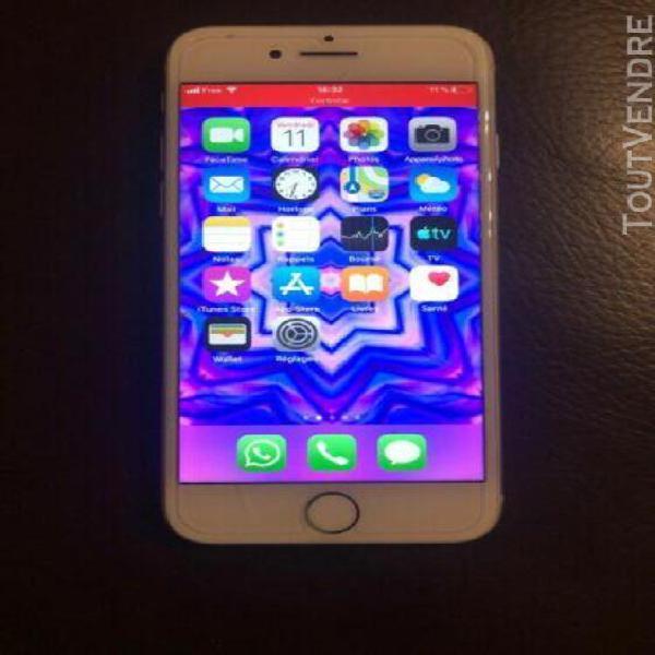 Iphone 8 argent 64 gi tres bon etat