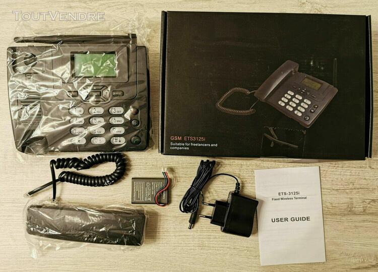 Téléphone fixe sans ligne france telecom - gsm personnes