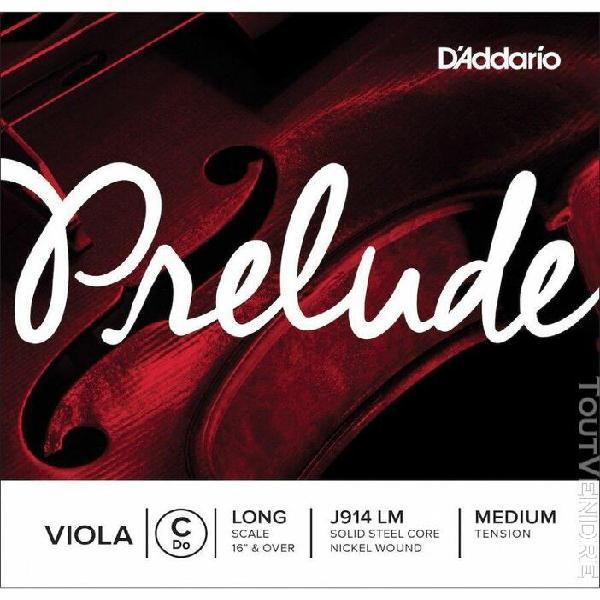 d'addario j914 lm - corde seule (do) alto prelude, long scal