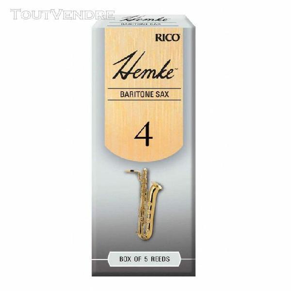 d'addario rhkp5bsx400 - anches hemke - saxophone baryton, fo