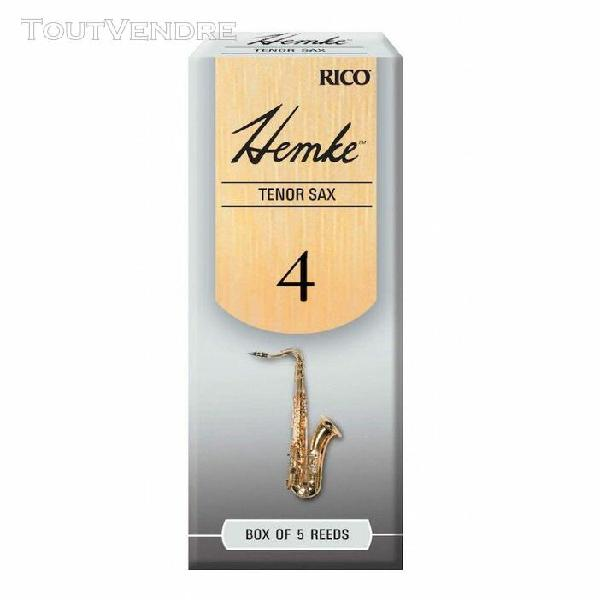 d'addario rhkp5tsx400 - anches hemke - saxophone ténor,