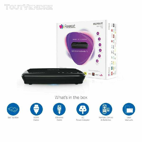 Humax hdr-1100s freesat hd smart digital tv recorder 1tb tel