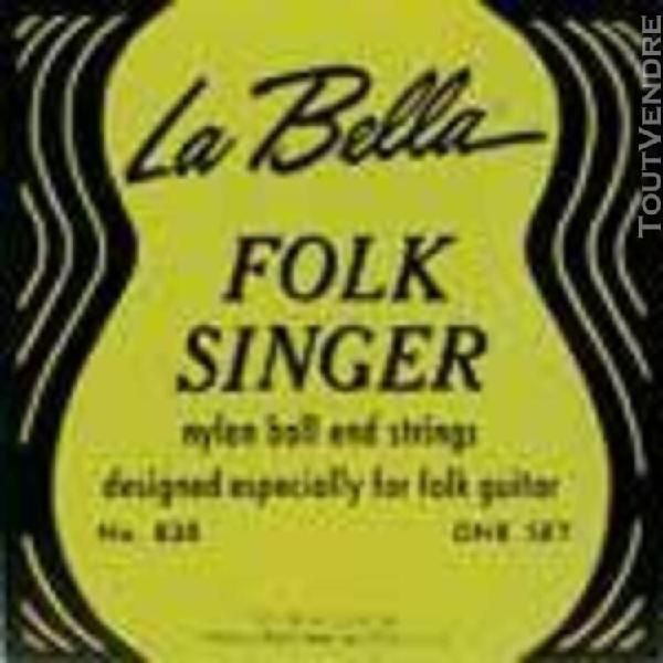 jeu la bella 830 folk singer guitare classique