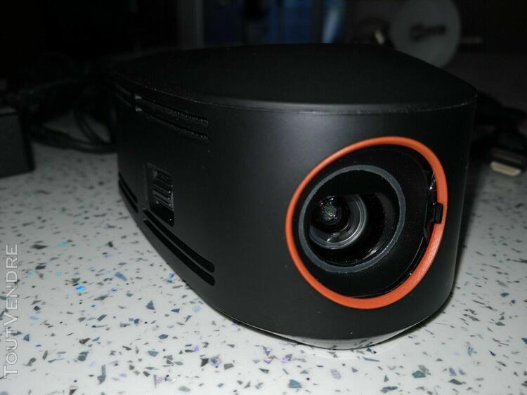 Mini projecteur lenovo 01ef196 avec alimentation et câble
