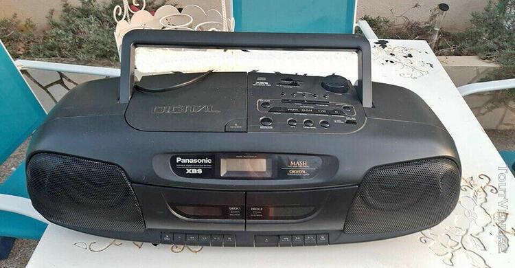 Panasonic rx-dt401 portable stereo double casssette boom box