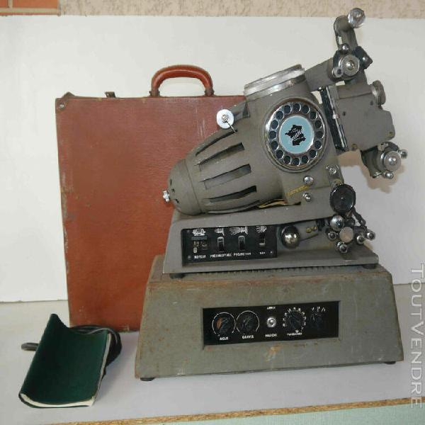 Projecteur ancien heurtier hsm série 53 et amplificateur à