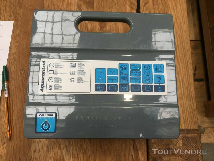 Accessoire pour piscine aquacontrol power supply control as2