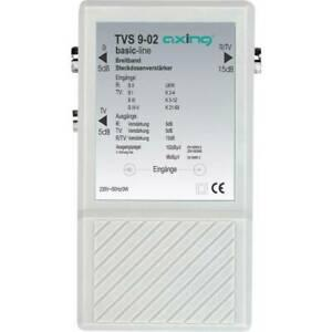 Amplificateur de prise à large bande 10 db axing tvs 9