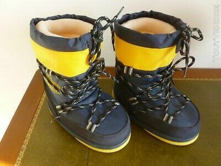 "Apres ski boot de neige enfant "" bootny "" decathlon marine"