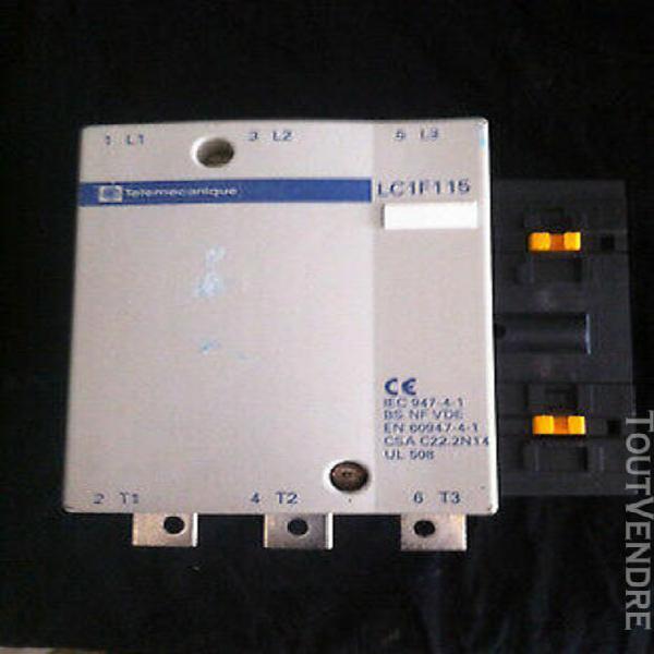 contacteur3 poles / télémécanique lc1f115