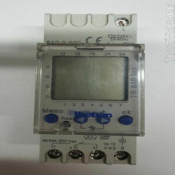 horloge programmable theben tr610 top / référence: 610 0