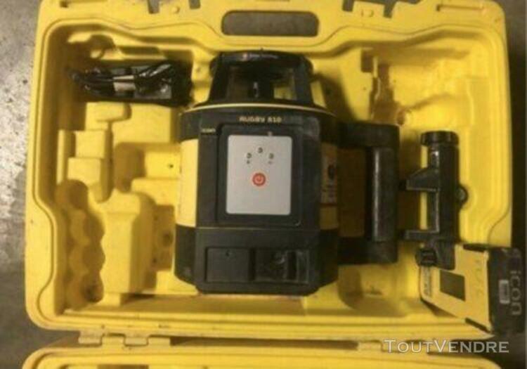 laser rotatif professionnel leica rugby 810 super État