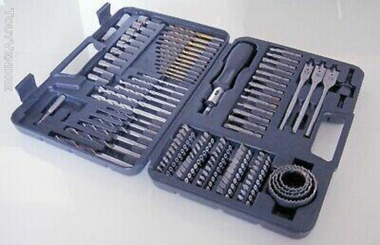 Petit coffret d'outils de bricolage 109 pièces