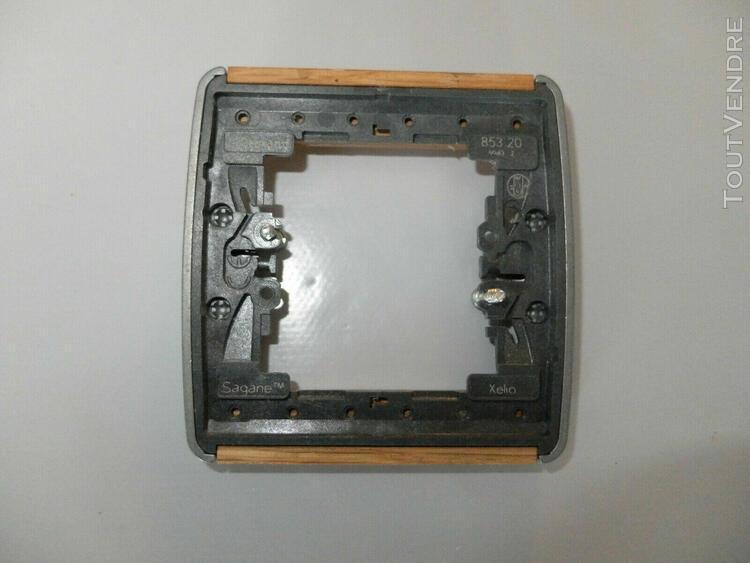 plaque legrand sagane xelio xeliomat chêne - 853 20