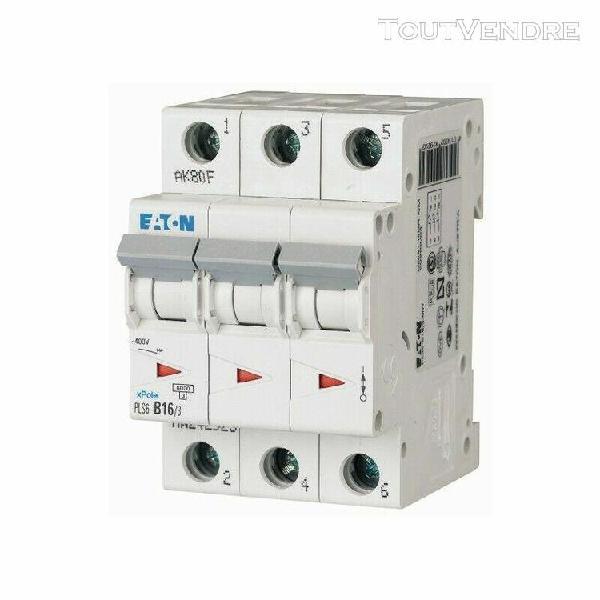 pls6-c16/3-mw 242949 eaton electric disjoncteur modulaire, 1