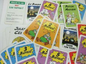 523 - cartes astérix - les baffes - jeu de cartes kellogg -