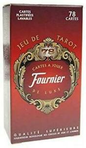 Fournier - tarot: 78 cartes à jouer luxe plastifiées