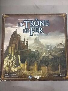 Le trône de fer seconde édition - superbe jeu de plateau -