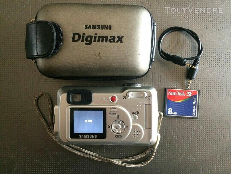 Appareil photo numérique samsung digimax 230