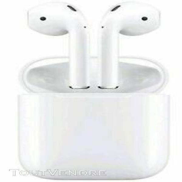 apple airpods Écouteurs intra-auriculaires boitier recharge