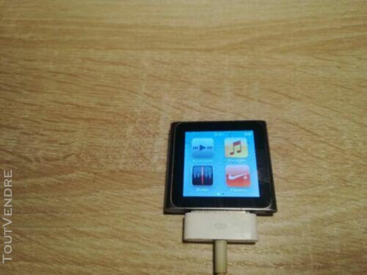 apple ipod nano - 8 go - argenté (6ème génération) avec