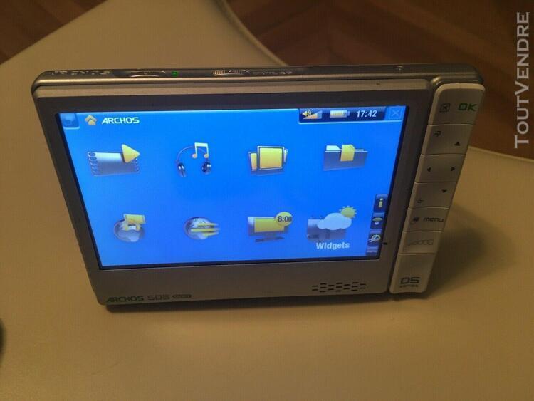 archos 605 wifi 30 go gb avec docking et plug-in