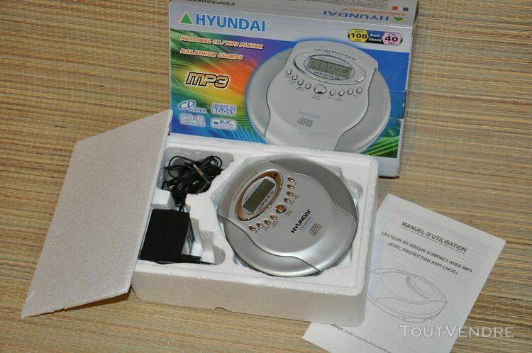 baladeur walkman cd / mp3 - réf. cpd320mp3 - marque hyunda