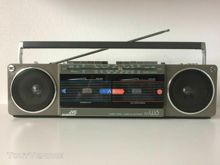 boombox jvc rc-w3l / fully serviced / top condition !
