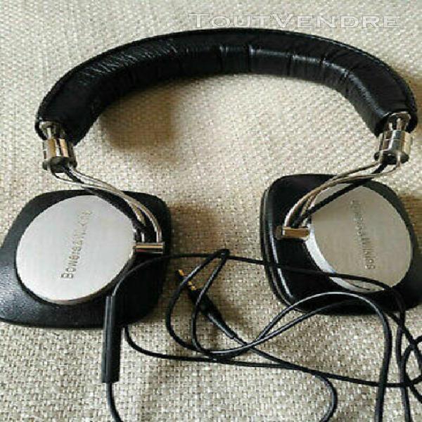 casque audio hi-fi fermé b&w bowers & wilkins p5 filaire