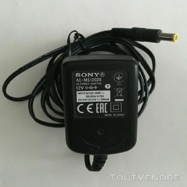 casque sans fil rechargeable sony mdr-rf865r avec socle de c